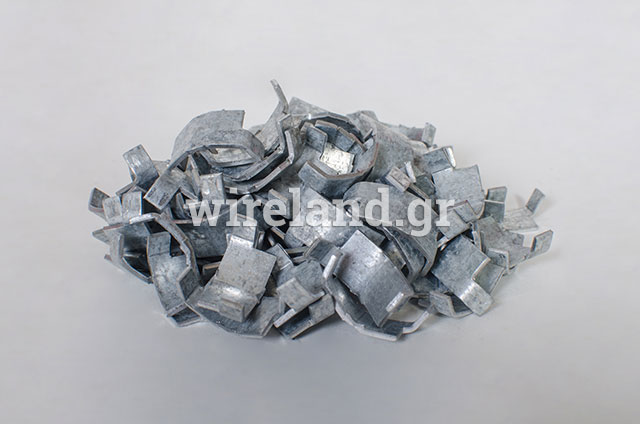 Clips for fastening razor wire