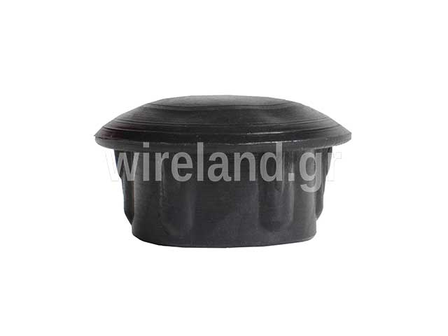 plastic cap for round pipes