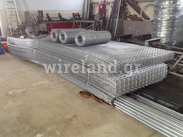 Steel wire mesh sheet