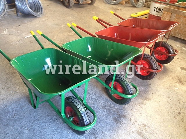 Reinforced building wheelbarrow