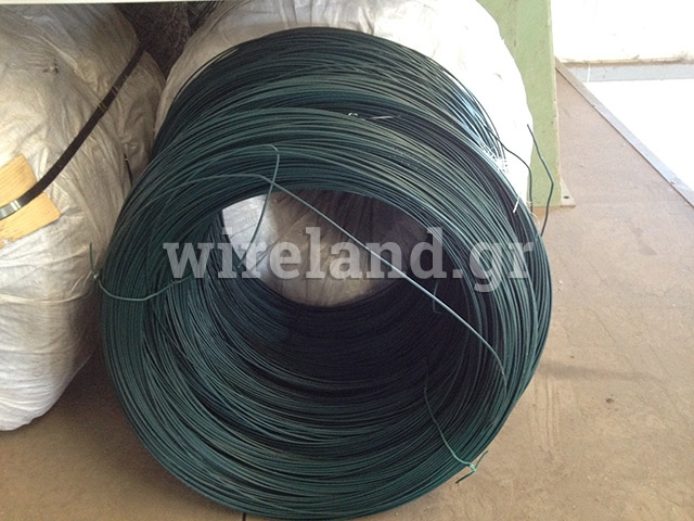 Plasticised wire