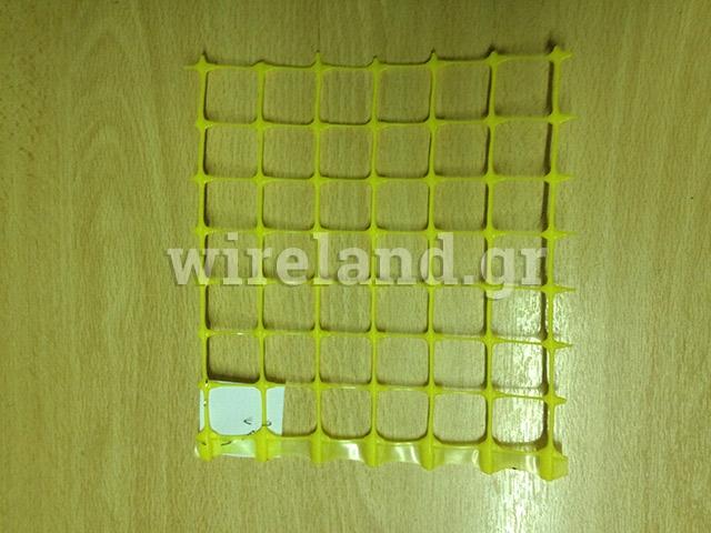 Plastic gas mesh
